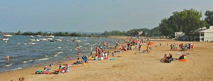 Gem Beach is one of OH - Ottawa Co. (PIB).