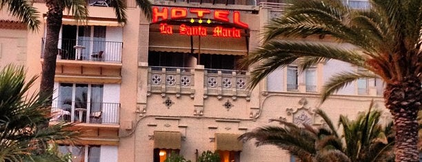 La Santa Maria Hotel is one of สถานที่ที่บันทึกไว้ของ Kote Beauty House.