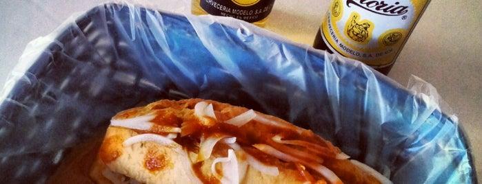 """Tortas y Tacos Ahogadas """"Chaparro"""" is one of Guanajuato."""