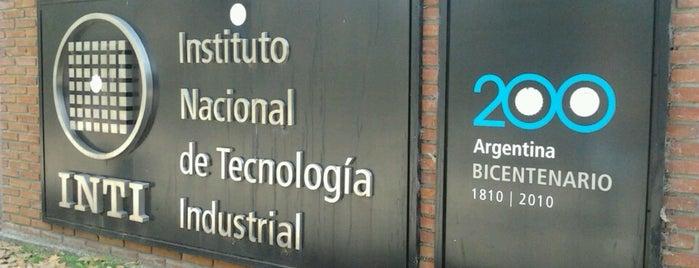 Instituto Nacional de Tecnología Industrial (INTI) is one of Lugares favoritos de RJPA.