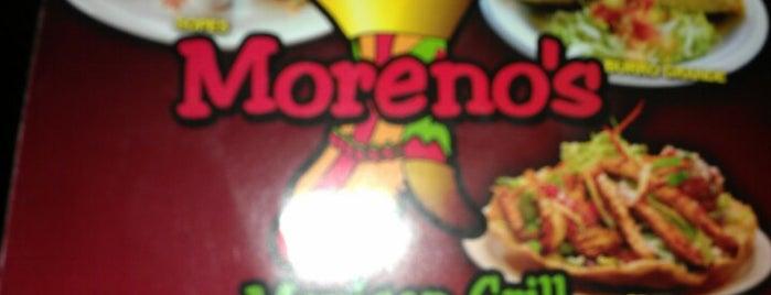 Moreno's Mexican Grill is one of Gespeicherte Orte von Bob.