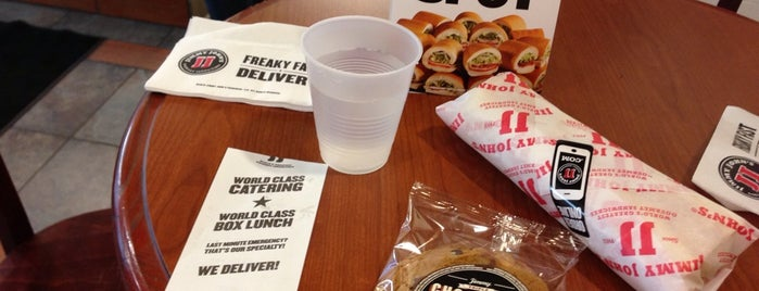Jimmy John's is one of USA 5.