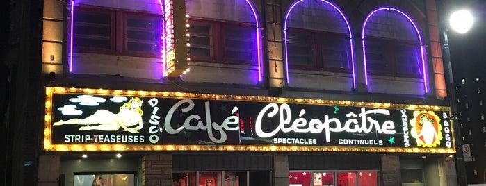 Café Cléopâtre is one of Montreal.