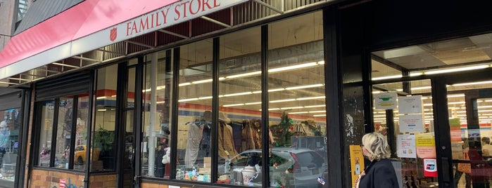 The Salvation Army Thrift Store is one of Thrift NYC.
