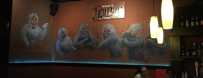 Yeti Bar at Annapurna is one of Locais curtidos por Sarah.