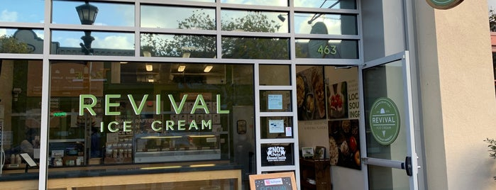 Revival Ice Cream is one of HWY1: Santa Cruz to Monterey/Carmel.