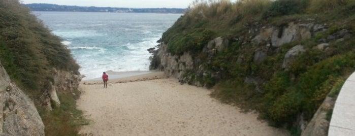 Praia de Adormideras is one of Playas de España: Galicia.