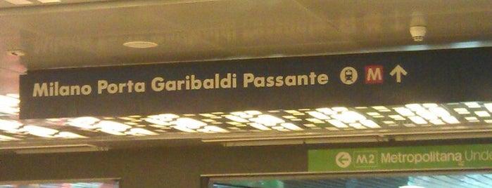 Stazione Milano Porta Garibaldi Sotterranea is one of My vacation @ IT.