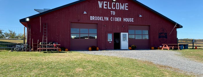 Brooklyn Cider House is one of adventures outside nyc.