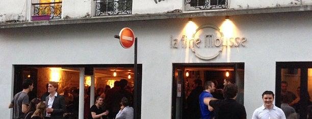 La Fine Mousse is one of Les 400 lieux branchés de Paris : Boire.