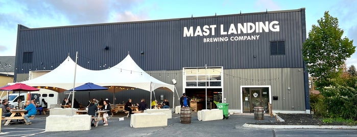 Mast Landing Brewing is one of NE.