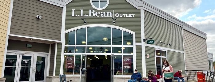 L.L.Bean Outlet is one of Zach & Sam wedding weekend.