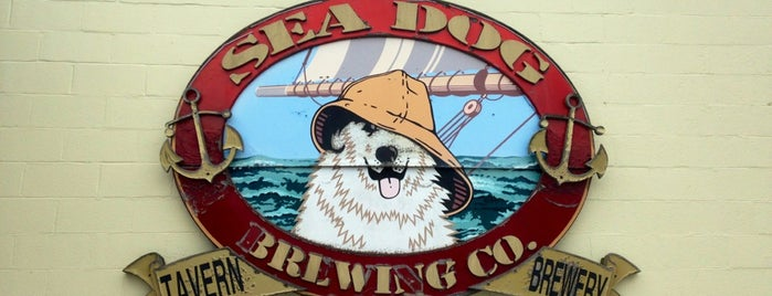 Sea Dog Brewing Company is one of Breweries USA.