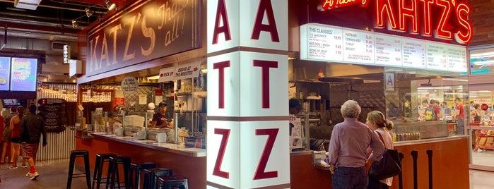 A Taste Of Katz's is one of สถานที่ที่ Sean ถูกใจ.