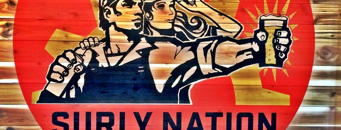 Surly Brewing Company is one of Craft Breweries.