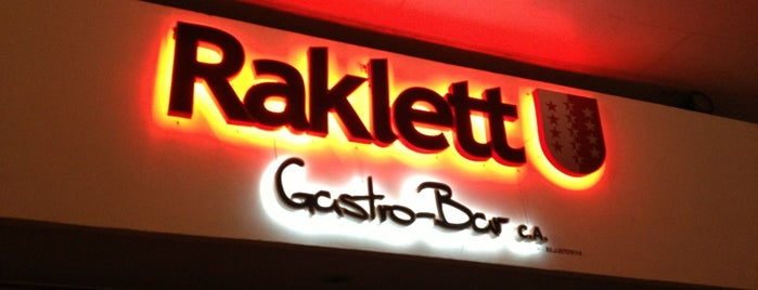 Raklett Gastro-Bar is one of San Cristóbal según Diplomatico.