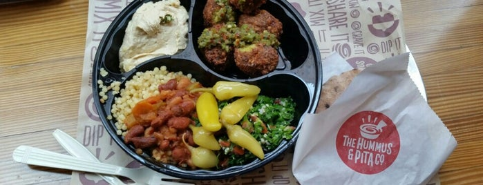 The Hummus & Pita Co is one of Lower Manhattan.