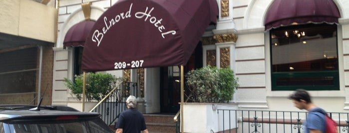 Belnord Hotel is one of Locais curtidos por Amanda.