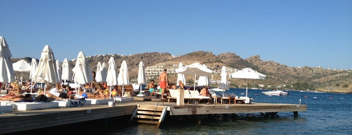 Moon Beach & Lounge is one of Bodrum - List -.