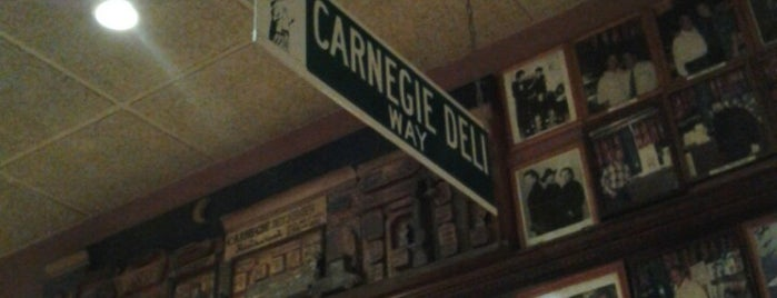 Carnegie Deli is one of If I ever go back to New York.