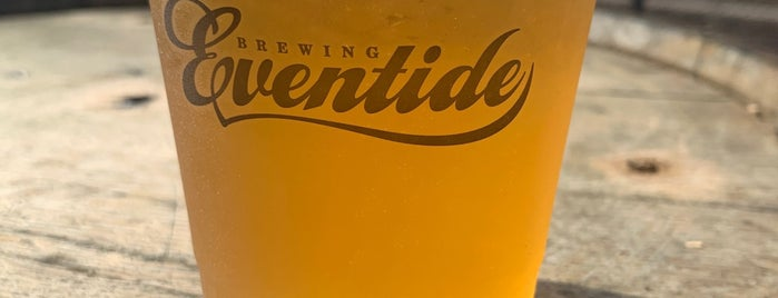 Eventide Brewing is one of ATL.