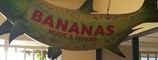 Bananas Music & Movies is one of Gallivant-ing.