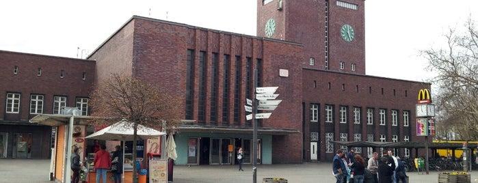 Oberhausen Hauptbahnhof is one of Bahnhöfe besucht !.