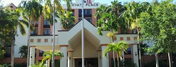Hyatt Place Fort Lauderdale/Plantation is one of Locais curtidos por brett.