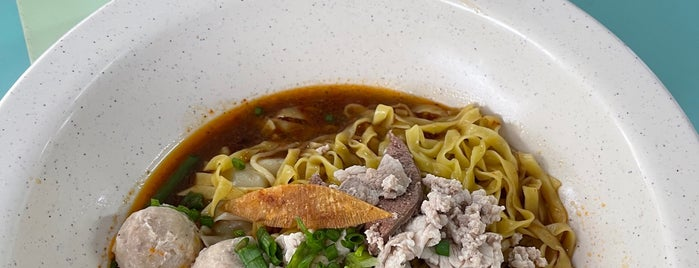 Tai Wah Pork Noodle is one of Singapore.