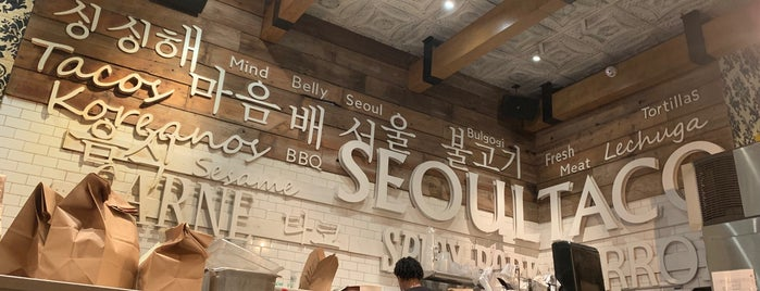 Seoul Taco is one of Chicago.