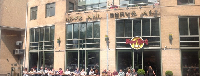 Hard Rock Cafe Amsterdam is one of Amsterdam favs.