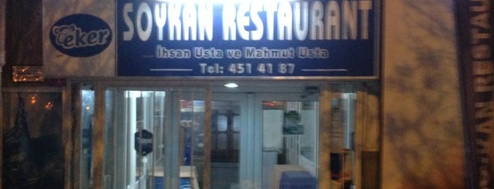 Soykan Restaurant is one of Locais curtidos por Hidayet.