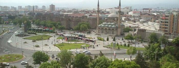 Cumhuriyet Meydanı is one of Gittiğim Yerler2.