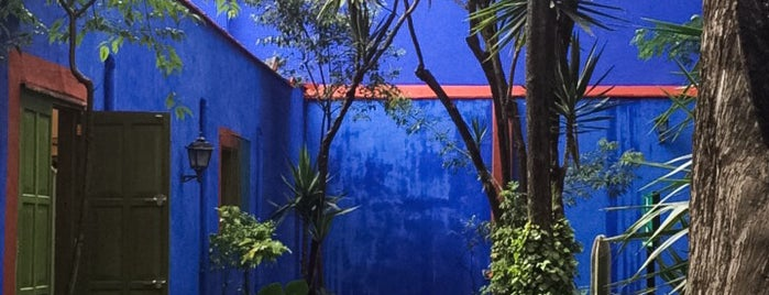 Museo Frida Kahlo is one of Mexico City Favorites.