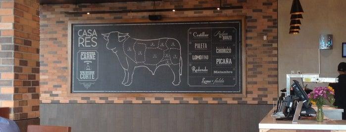 CasaRES Steak House is one of Locais curtidos por Juan.