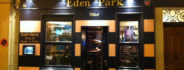 Eden Park Pub is one of Quartier Latin.