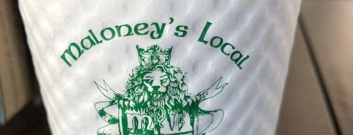 Maloney's Irish Pub is one of John 님이 좋아한 장소.