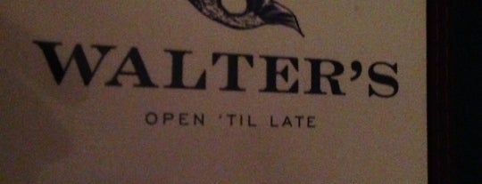 Walter's is one of Favorite Spots.