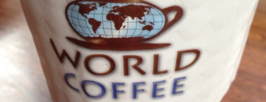 World Coffee is one of Manhattan's Best Coffee by Subway Stop.