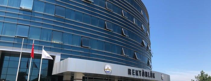 Trakya Üniversitesi Rektörlüğü is one of Edirne.