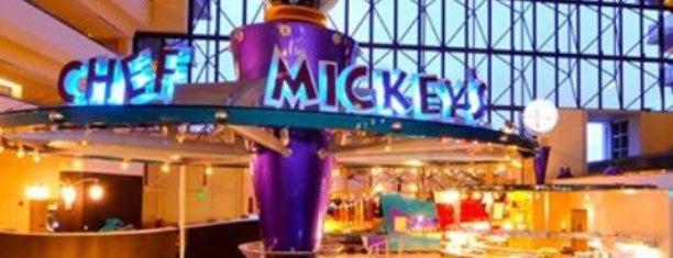 Disney's Contemporary Resort is one of Walt Disney World.