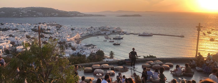 180° Sunset Bar is one of Mykonos.