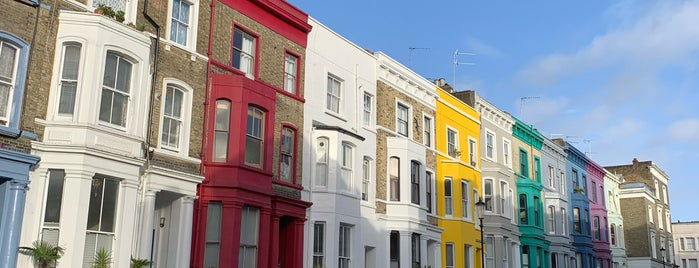 Lancaster Road Coloured Houses is one of London Stories.
