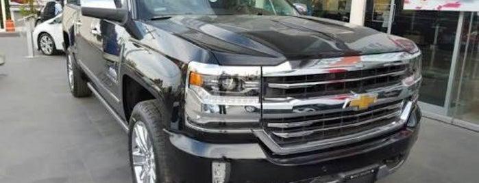 Distribuidor Autorizado Chevrolet (Iztacalco Motors, S.A. de C.V.) is one of alejandro 님이 좋아한 장소.