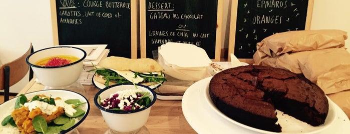 Booba Mara is one of Healthy & Veggie Food in Paris.