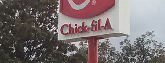 Chick-fil-A is one of Kawika : понравившиеся места.