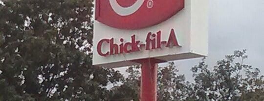 Chick-fil-A is one of Lieux qui ont plu à Kawika.