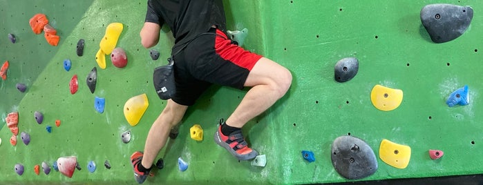 The Circuit Bouldering Gym is one of Common check ins.