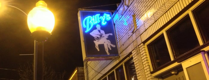 Billy's Lounge is one of Orte, die Derek gefallen.