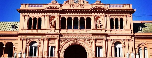 Casa Rosada is one of Buenos Aires by Lonely Planet.